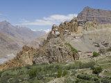 Dhankar Monastery, Spiti, Himachal Pradesh, India Photographic Print by Simanor Eitan