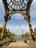 Footbridge, Rhoda Island, Cairo, Egypt, North Africa, Africa Photographic Print by Schlenker Jochen