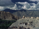 View from Phyang Gompa, Ladakh, India Photographic Print by Sassoon Sybil