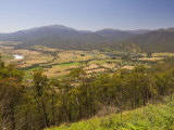 View of Mount Beauty and Mount Bogong, Victoria, Australia, Pacific Photographic Print by Schlenker Jochen