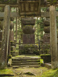 Okunoin Graveyard Containing 20000 Buddhist Gravestones, Koya-San, Kansai, Honshu, Japan Photographic Print by Schlenker Jochen