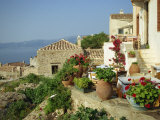 Monemvasia, Lakonia, Mainland, Greece, Europe Photographie par O'callaghan Jane