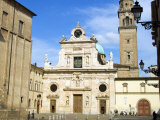 St. Giovanni Square and St. Giovanni Church, Parma, Emilia Romagna, Italy, Europe Photographic Print by Tondini Nico