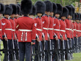 Changing the Guard Ceremony, Parliament Hill, Ottawa, Ontario, Canada, North America Photographic Print by De Mann Jean-Pierre