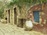 Traditional Old House in the Old Town, Sifaka, Chania, Crete, Greece, Europe Photographic Print by Terry Sheila