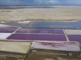 Aerial Photo of Sea Salt Pans, Swakopmund, Namibia, Africa Photographic Print by Milse Thorsten