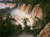 Iguassu Falls, UNESCO World Heritage Site, Misiones Region, Argentina, South America Photographic Print by Simanor Eitan