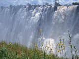 Victoria Falls, UNESCO World Heritage Site, Zambia, Africa Photographic Print by Pate Jenny