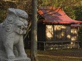 Hoashiri Temple, Hokkaido, Japan Photographic Print by Schlenker Jochen