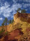 Ochre Quarries at Roussillon, Provence, France, Europe Photographic Print by Rainford Roy