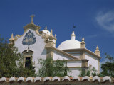 Exterior of the Christian Church of Sao Lourenco, Almansil, in the Algarve, Portugal, Europe Photographic Print by Teegan Tom