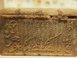 Wooden Box for Quran, Dating from 1344 AD, National Museum, Kuwait, Middle East Photographic Print by Ryan Peter