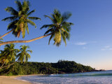 Takamata Beach, South Mahe Island, Seychelles, Indian Ocean, Africa Photographic Print by Stanley Storm