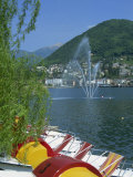 Ponte Tresa, Lake Lugano, Lombardy, Italian Lakes, Italy, Europe Photographic Print by Terry Sheila