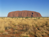 Ayers Rock, Uluru-Kata Tjuta National Park, Northern Territory, Australia, Pacific Photographic Print by Tovy Adina