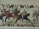 Bayeux Tapestry, Bayeux, Normandy, France 写真プリント : ローリングス・ウォルター