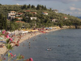Beach, Afissos, Pelion, Thessaly, Greece, Europe Photographic Print by Richardson Rolf