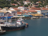 Katakolon Harbour, Peloponnese, Greece, Europe Photographic Print by Richardson Rolf