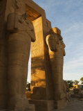 Ramesseum, West Bank, Thebes, UNESCO World Heritage Site, Egypt Photographic Print by Schlenker Jochen
