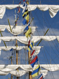 Three Masted Boat, the Cuauhtemoc from Mexico During Armada 2008, Rouen, Normandy, France, Europe Photographic Print by Thouvenin Guy