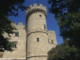 Castle of the Knights in Rhodes Old Town, Rhodes, Dodecanese, Greek Islands, Greece Photographic Print by Teegan Tom