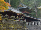 Taiyu-In Mausoleum, Nikko, Central Honshu, Japan Photographic Print by Schlenker Jochen