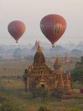 Balloons, Bagan, Myanmar Photographic Print by Schlenker Jochen
