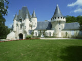 Chateau, Chef-Boutonne, Deux Sevres, Poitou-Charentes, France, Europe Photographic Print by Rawlings Walter