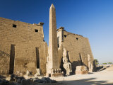 Luxor Temple, Luxor, Thebes, UNESCO World Heritage Site, Egypt, North Africa, Africa Photographic Print by Schlenker Jochen