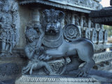 Hoysaleswara Temple, Halebid, Near Mysore, India Photographic Print by Sassoon Sybil