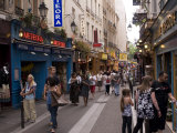 Rue De La Huchette, Quartier Latin, Paris, France, Europe Photographic Print by Pitamitz Sergio