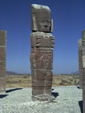 Toltec Statue, Tula, Mexico, North America Photographic Print by Sassoon Sybil