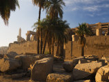Temple of Amun at Karnak, Thebes, UNESCO World Heritage Site, Egypt, North Africa, Africa Photographic Print by Schlenker Jochen