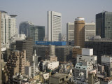 City Skyline, Osaka, Japan Photographic Print by Richardson Rolf