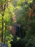 Emma Falls, Emma Gorge, Kimberley, Western Australia, Australia, Pacific Photographic Print by Schlenker Jochen