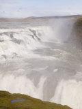 Gullfoss Waterfalls, Iceland, Polar Regions Photographic Print by Pitamitz Sergio