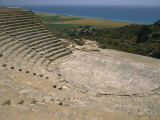 Theatre, Curium, 100 AD, Cyprus, Europe Photographic Print by Short Michael