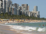 Boa Viagem Beach, Recife, Pernambuco, Brazil, South America Photographic Print by Richardson Rolf