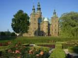 Garden and Castle of Rosenborg Slot, Copenhagen, Denmark, Scandinavia, Europe Photographic Print by Simanor Eitan