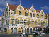 Penha Building, Willemstad, Curacao, Netherlands Antilles, West Indies, Caribbean Photographic Print by Tovy Adina