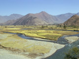 Landscape of the Swat River Valley in Pakistan Photographic Print by Sassoon Sybil