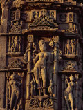 Detail of the Sun Temple, Built by King Bhimbev in the 11th Century, Modhera, Gujarat State, India Photographic Print by Wilson John Henry Claude