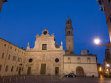 San Giovanni Church at Dusk, Parma, Emilia-Romagna, Italy, Europe Photographic Print by Pitamitz Sergio
