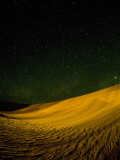 Sand Dunes at Night, Erg Awbari, Sahara Desert, Fezzan, Libya, North Africa, Africa Photographic Print by Pitamitz Sergio