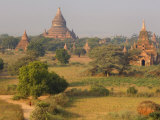 Pe-Nan-Tha Group, Bagan, Myanmar Photographic Print by Schlenker Jochen