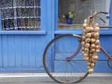 Johnnie's Bike, Roscoff, North Finistere, Brittany, France, Europe Photographic Print by De Mann Jean-Pierre