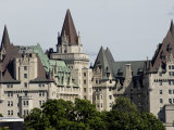 Fairmont Chateau Laurier Hotel, Ottawa, Ontario Province, Canada Photographic Print by De Mann Jean-Pierre