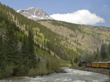 Durango and Silverton Train, Colorado, United States of America, North America Photographic Print by Snell Michael