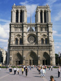 Notre Dame Cathedral, Paris, France, Europe Photographic Print by Rawlings Walter