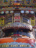 Decorated Bedford Van, Gilgit, Pakistan Photographic Print by Poole David